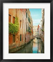 Framed Vintage Inspired Venice
