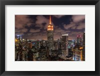 Framed Orange 9-11