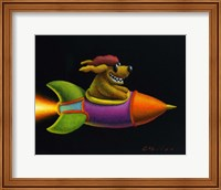 Framed Rocket Dog