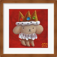 Framed Royal Pup