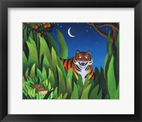Framed Tiger Tyger