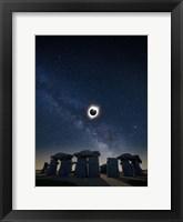 Framed Eclipse at Carhenge