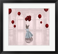 Framed Ball with Balloons