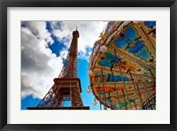 Framed La Tour et Le Carrousel