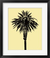 Framed Palm Tree 1996 (Yellow)