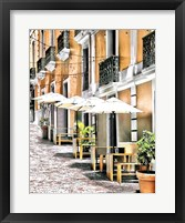 Framed Old San Juan Siesta