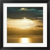 Framed Orcas Sunset 1
