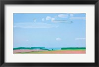 Framed Cloudy Sky