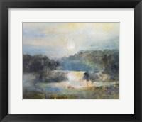 Framed Valley Blue