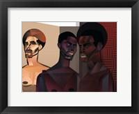 Framed Three Men