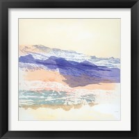 Framed Abstract Mountain