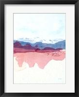 Framed Geode Mountain