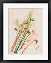 Framed Post Modern Bamboo