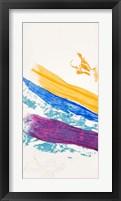 Framed Waves of Washi No. 1