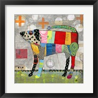 Framed Coat of Many Colors
