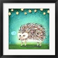 Framed Porcupine for Thomas