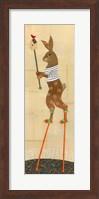 Framed Rabbit on Stilts