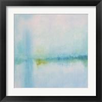 Framed Misted Shores
