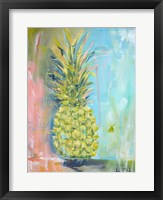 Framed Chartreuse Pineapple