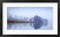 Framed Autumn Haze, Loch Eck