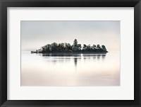 Framed Dawn at Loch Awe