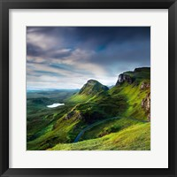 Framed Summer on the Quiraing