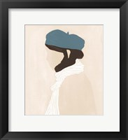 Framed Blue Beret