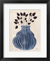 Framed Lapis Vase