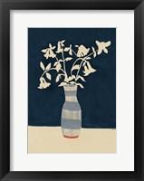 Framed Limoges Vase