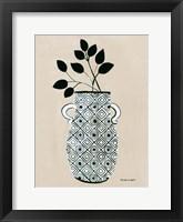 Framed Luna Vase