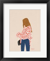 Framed Red Stripes