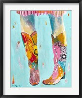 Framed Cowgirl Boots