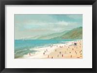Framed Santa Monica Beach
