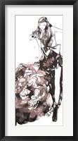 Framed Peony Dress