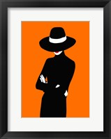 Framed Lady No. 1