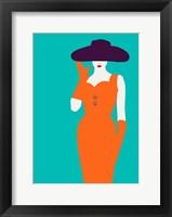 Framed Lady No. 12