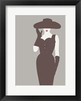 Framed Lady No. 15