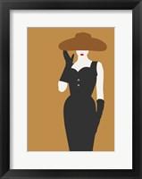 Framed Lady No. 16