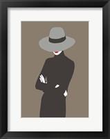 Framed Lady No. 4