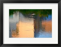Framed Reflection on the Iowa River No. 1