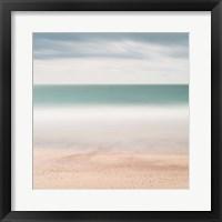Framed Beach, Sea, Sky