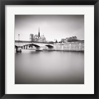 Framed Notre Dame I