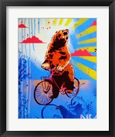 Framed Bear Back Rider