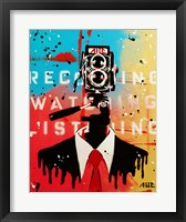 Framed NSA Camera Man