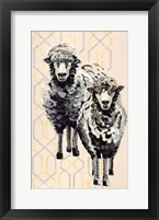 Framed Woolly Two