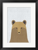 Framed Grizzly Bear