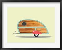 Framed Teardrop Camper