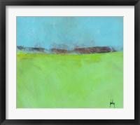 Framed Low Distant Hills
