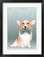 Framed Corgi Dog