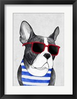 Framed Frenchie Summer Style